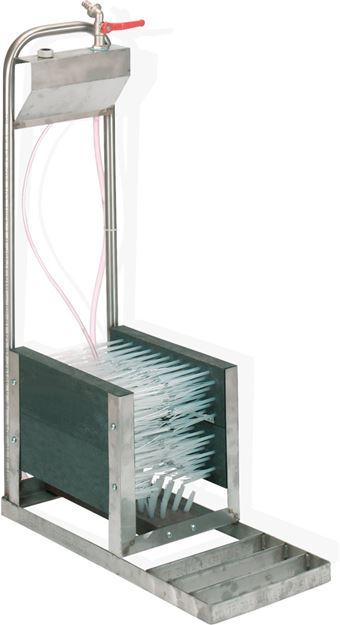 Image sur Lave botte à eau à aspiration 5 brosses