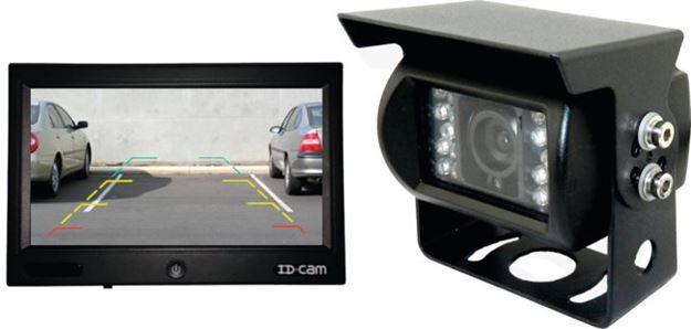 Image sur kit moniteur et caméra de recul ID.CAM