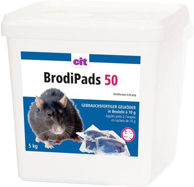 Image sur BrodiPads 5000g Brodifacoum