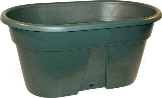 Image sur Abreuvoir de pâture 380L avec bouchon de vidange