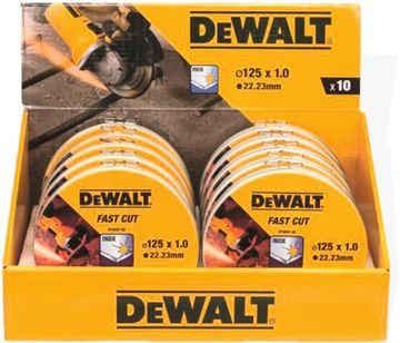 Image de Disques à tronçonner l'inox 125 x 22 2 x 1mm